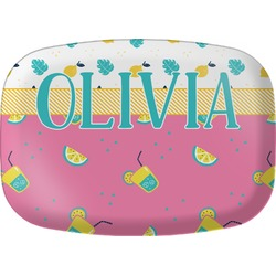 Summer Lemonade Melamine Platter (Personalized)