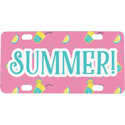 Summer Lemonade Mini / Bicycle License Plate (Personalized)