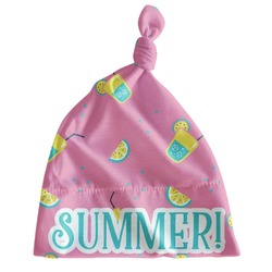 Summer Lemonade Newborn Hat - Knotted (Personalized)