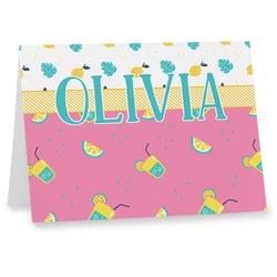 Summer Lemonade Notecards (Personalized)
