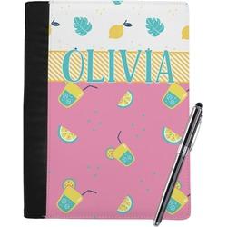 Summer Lemonade Notebook Padfolio (Personalized)