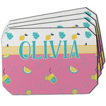 Summer Lemonade Dining Table Mat - Octagon w/ Name or Text