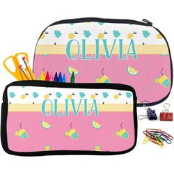 Summer Lemonade Pencil / School Supplies Bag (Personalized)