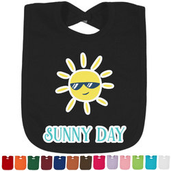 Summer Lemonade Baby Bib - 14 Bib Colors (Personalized)