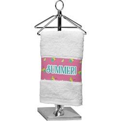 Summer Lemonade Cotton Finger Tip Towel (Personalized)