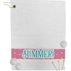 Summer Lemonade Golf Bag Towel (Personalized)