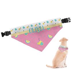 Summer Lemonade Dog Bandana (Personalized)