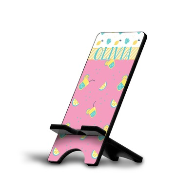 Summer Lemonade Cell Phone Stands (Personalized)