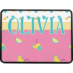 Summer Lemonade Rectangular Trailer Hitch Cover (Personalized)