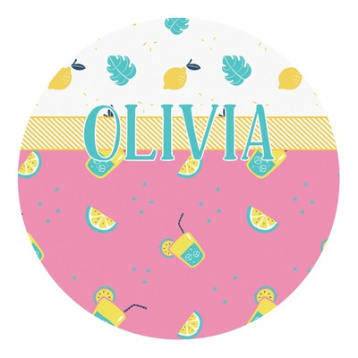 Summer Lemonade Round Decal (Personalized)