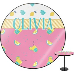 Summer Lemonade Round Table (Personalized)