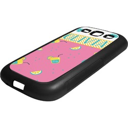 Summer Lemonade Rubber Samsung Galaxy 3 Phone Case (Personalized)