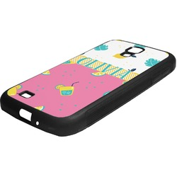 Summer Lemonade Rubber Samsung Galaxy 4 Phone Case (Personalized)