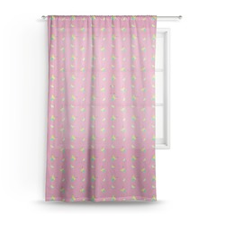 Summer Lemonade Sheer Curtains (Personalized)