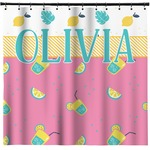 Summer Lemonade Shower Curtain (Personalized)
