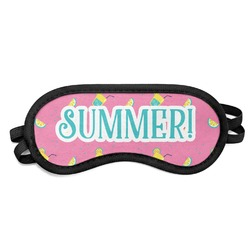 Summer Lemonade Sleeping Eye Mask (Personalized)