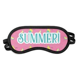 Summer Lemonade Sleeping Eye Mask (Personalized)