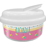 Summer Lemonade Snack Container (Personalized)