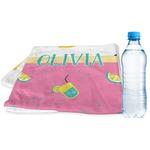 Summer Lemonade Sports & Fitness Towel (Personalized)