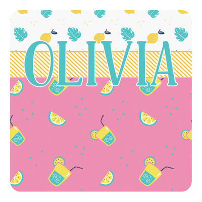 Summer Lemonade Square Decal (Personalized)