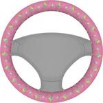 Summer Lemonade Steering Wheel Cover (Personalized)