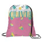 Summer Lemonade Drawstring Backpack (Personalized)