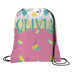 Summer Lemonade Drawstring Backpack (Personalized)