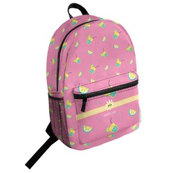 Summer Lemonade Student Backpack (Personalized)
