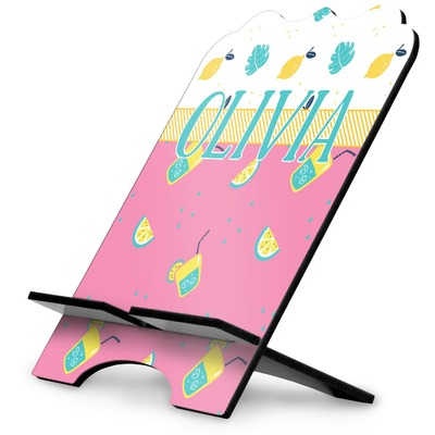 Summer Lemonade Stylized Tablet Stand (Personalized)
