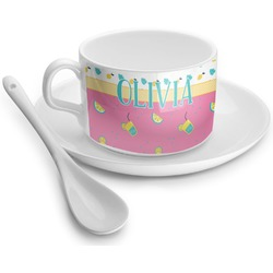 Summer Lemonade Tea Cups (Personalized)