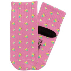 Summer Lemonade Toddler Ankle Socks (Personalized)