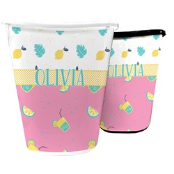 Summer Lemonade Waste Basket (Personalized)