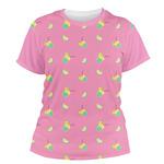 Summer Lemonade Women's Crew T-Shirt (Personalized)
