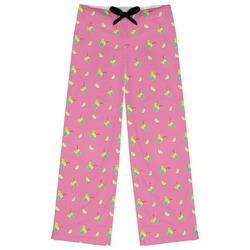 Summer Lemonade Womens Pajama Pants (Personalized)