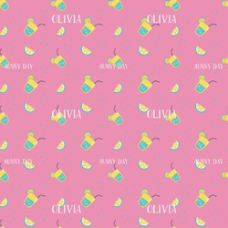 Summer Lemonade Wrapping Paper (Personalized)