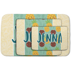 Pineapples and Coconuts Area Rug (Personalized)