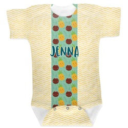 Pineapples and Coconuts Baby Bodysuit (Personalized)