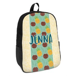Pineapples and Coconuts Kids Backpack (Personalized)