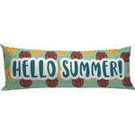 Pineapples and Coconuts Body Pillow Case (Personalized)