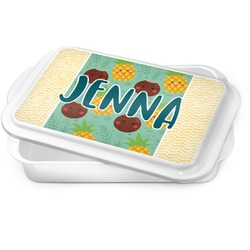 Pineapples and Coconuts Cake Pan (Personalized)