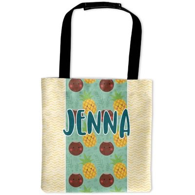Pineapples and Coconuts Auto Back Seat Organizer Bag (Personalized)