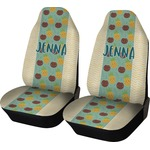 Pineapples and Coconuts Car Seat Covers (Set of Two) (Personalized)