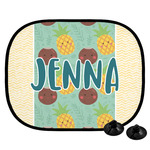Pineapples and Coconuts Car Side Window Sun Shade (Personalized)