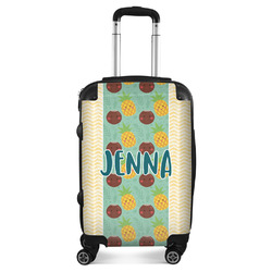 Pineapples and Coconuts Suitcase (Personalized)