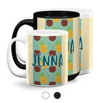 Pineapples and Coconuts Coffee Mugs (Personalized)