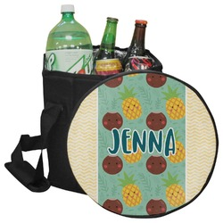 Pineapples and Coconuts Collapsible Cooler & Seat (Personalized)
