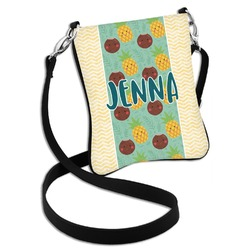 Pineapples and Coconuts Cross Body Bag - 2 Sizes (Personalized)
