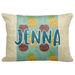 """Pineapples and Coconuts Decorative Baby Pillowcase - 16""""x12"""" (Personalized)"""