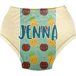 Pineapples and Coconuts Diaper Cover (Personalized)