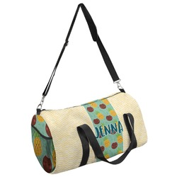 Pineapples and Coconuts Duffel Bag (Personalized)